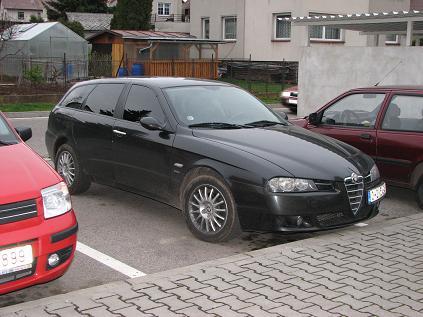 2004 Alfa Romeo 156 Crosswagon Q4. 2004 Alfa Romeo 156 2.4 (146